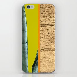 Gold Leaf Print iPhone Skin