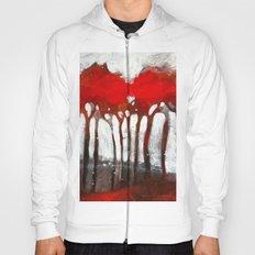 Red trees Hoody