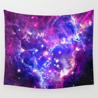 galaxy Wall Tapestries featuring Galaxy. by Matt Borchert