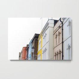 Portobello Road, Kensington and Chelsea, West London Metal Print