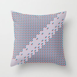 Pattern Distancing Throw Pillow