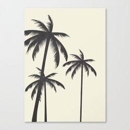 Palm Trees No.1 Canvas Print