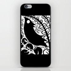 Doodlebird Print iPhone & iPod Skin