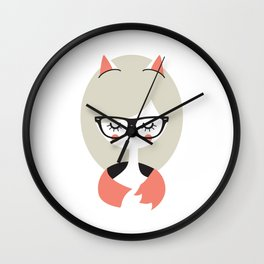 Call me Foxy! Wall Clock