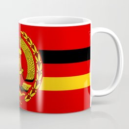 Naval Ensign of East Germany, 1960-1990 Coffee Mug