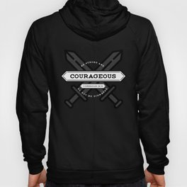 1 CHONICLES - BE STRONG AND COURAGEOUS Hoody