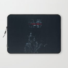 Fireman in Action Laptop Sleeve