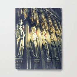 And They Devoted Themselves Metal Print