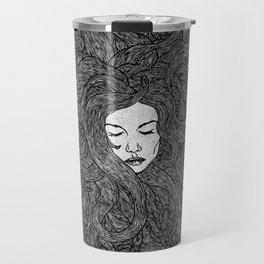Girl's Hair Travel Mug