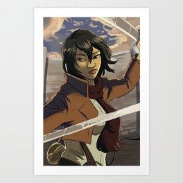 Mikasa Art Print