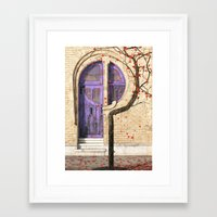 nouveau Framed Art Prints featuring Nouveau by Cynthia Decker