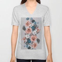 Flowers 9 Unisex V-Neck