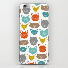 Cats (cats) iPhone Skin