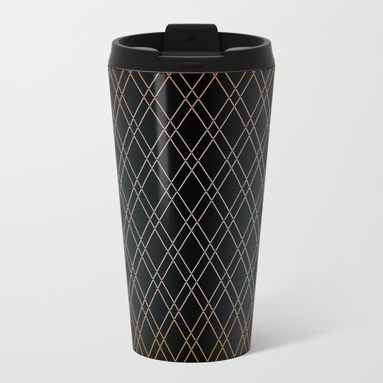 Black Diamonds. Metal Travel Mug