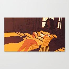 A Morning Affair Canvas Print