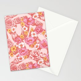 Weapon Floral Stationery Cards