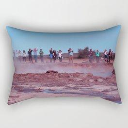 Geyser in Iceland Rectangular Pillow