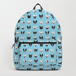 Cute Frenchies Doggie Family Collage Backpack