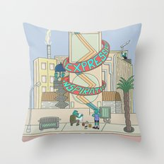 Festivals Season Throw Pillow