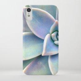 Pastel Succulent iPhone Case