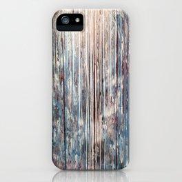 Blue Away iPhone Case