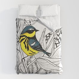 Magnolia Warbler Comforters