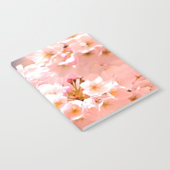 Pretty Pink Spring Blossoms :) Notebook