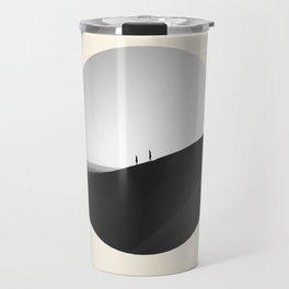 Zen Minimalist Desert Dune Travel Mug