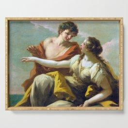 Giovanni Antonio Pellegrini Bacchus and Ariadne Serving Tray