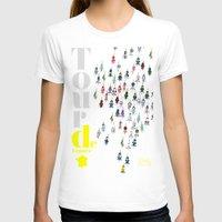 tour de france T-shirts featuring Tour De France by Wyatt Design