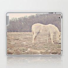 Pretty White Pony  Laptop & iPad Skin