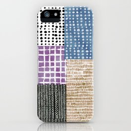 Primavera Mixed Pattern iPhone Case