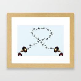 Communication Framed Art Print