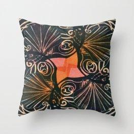 Surround Sound Shells Throw Pillow