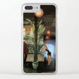 Tiki Bar Clear iPhone Case