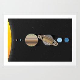 Sol - The Nine Planets Art Print