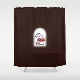 Sewing Frog Shower Curtain