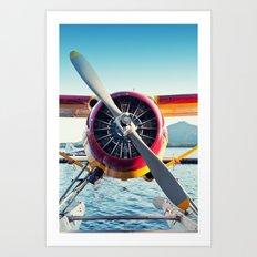 Float Plane Art Print