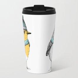 Winter bird Travel Mug