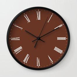 Boho Roman numerals Wall Clock // 09 Wall Clock