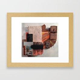 """Four ways"" Framed Art Print"
