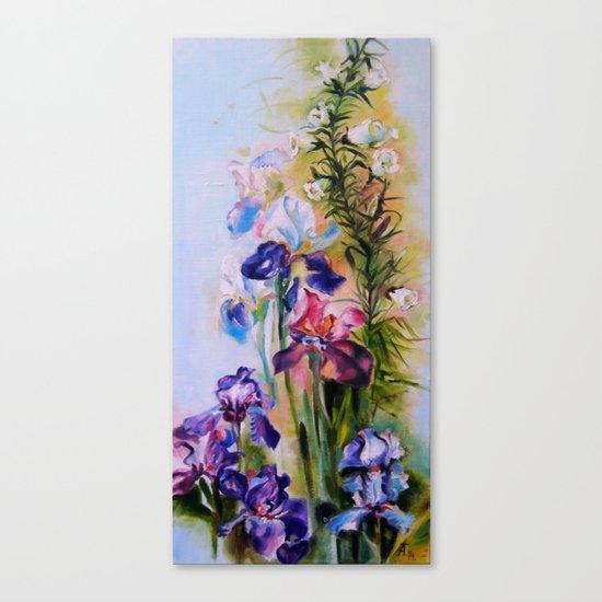 Irises Canvas Print