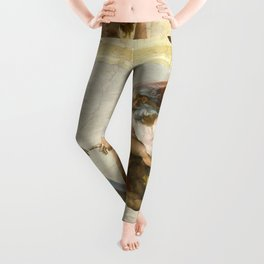"Michelangelo ""Creation of Adam"" Leggings"