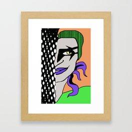 Cartoonish Framed Art Print