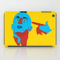 taxi driver iPad Cases featuring Taxi Driver by Eduardo Guima
