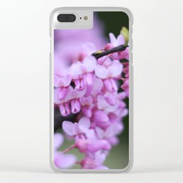 Red Buds Clear iPhone Case
