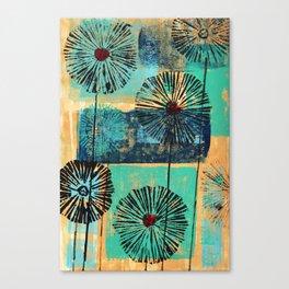 Flower Puffs Too Canvas Print