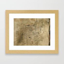 We need to escape Framed Art Print