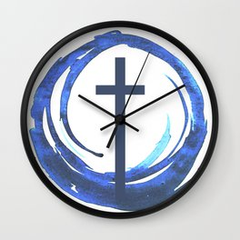 Circle Of Life - Cross Wall Clock