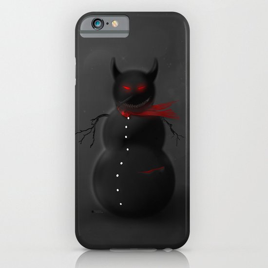 Dark Snowman iPhone & iPod Case